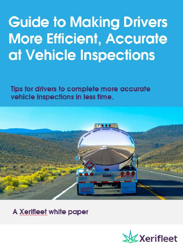 Guide to Making Drivers More Efficient, Accurate at Vehicle Inspections